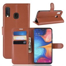 Luurinetti Flip Wallet Galaxy A20e Brown