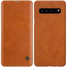 Nillkin Qin Flip Cover Galaxy S10 5G brown