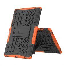 LN kuori tuella Galaxy Tab S5e Orange