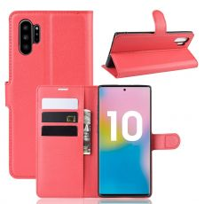 Luurinetti Flip Wallet Galaxy Note 10+ Red