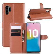 Luurinetti Flip Wallet Galaxy Note 10+ Brown