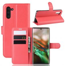 Luurinetti Flip Wallet Galaxy Note 10 Red