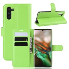 Luurinetti Flip Wallet Galaxy Note 10 Green