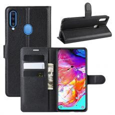 LN Flip Wallet Galaxy A20s Black