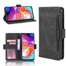 LN 5card Flip Wallet Galaxy A20s Black