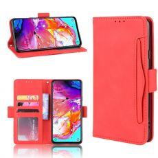 LN 5card Flip Wallet Galaxy A20s Red