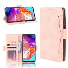 LN 5card Flip Wallet Galaxy A20s Pink