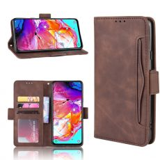 LN 5card Flip Wallet Galaxy A20s Brown