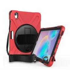 LN suojakuori+kantohihna Galaxy Tab S6 red