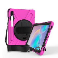 LN suojakuori+kantohihna Galaxy Tab S6 rose