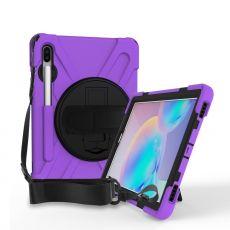 LN suojakuori+kantohihna Galaxy Tab S6 purple