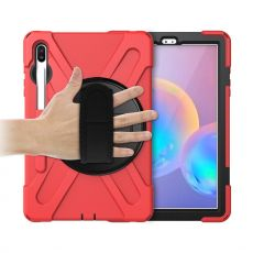 LN Rugged Case Galaxy Tab S6 red
