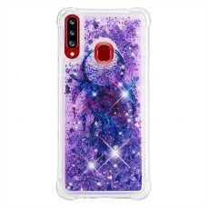 LN TPU-suoja Galaxy A20s Glitter 2
