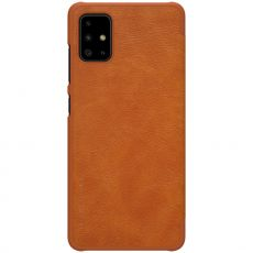 Nillkin Qin Flip Cover Galaxy A51 brown