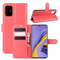 LN Flip Wallet Galaxy A51 red