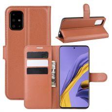 LN Flip Wallet Galaxy A51 brown