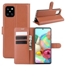 LN Flip Wallet Galaxy Note10 Lite brown