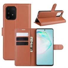 LN Flip Wallet Galaxy S10 Lite brown