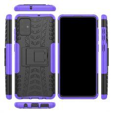 LN kuori tuella Galaxy A71 purple