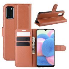 LN Flip Wallet Galaxy A41 brown