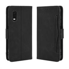 LN 5card Flip Wallet Galaxy Xcover Pro Black