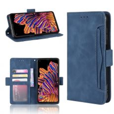 LN 5card Flip Wallet Galaxy Xcover Pro Blue