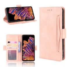 LN 5card Flip Wallet Galaxy Xcover Pro Pink
