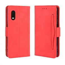 LN 5card Flip Wallet Galaxy Xcover Pro Red