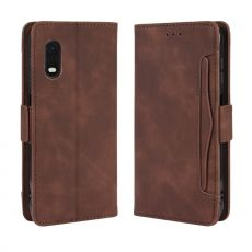 LN 5card Flip Wallet Galaxy Xcover Pro Brown