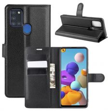 LN Flip Wallet Galaxy A21s Black