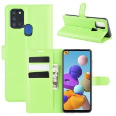 LN Flip Wallet Galaxy A21s Green
