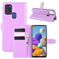 LN Flip Wallet Galaxy A21s Purple