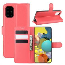 LN Flip Wallet Galaxy A51 5G Red
