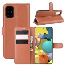 LN Flip Wallet Galaxy A51 5G Brown