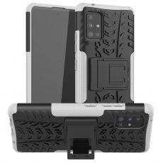 LN kuori tuella Galaxy A51 5G White