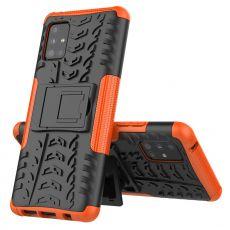LN kuori tuella Galaxy A51 5G Orange