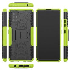 LN kuori tuella Galaxy A51 5G Green
