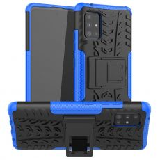 LN kuori tuella Galaxy A51 5G Blue
