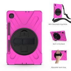 LN suojakuori+hihna Galaxy Tab S6 Lite rose