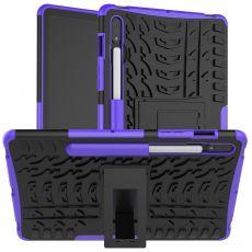 LN kuori tuella Galaxy Tab S7 Purple