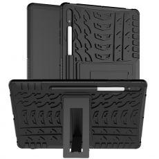 LN kuori tuella Galaxy Tab S7+ Black