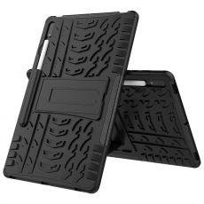 LN kuori tuella Galaxy Tab S7+/S7 FE 5G Black