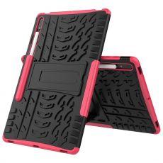 LN kuori tuella Galaxy Tab S7+/S7 FE 5G Rose