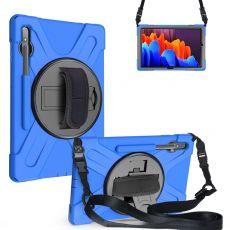 LN suojakuori+kantohihna Galaxy Tab S7+ blue