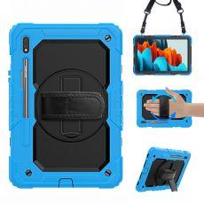 LN suojakuori+kantohihna Galaxy Tab S7 blue/black