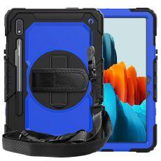 LN suojakuori+kantohihna Galaxy Tab S7 black/blue