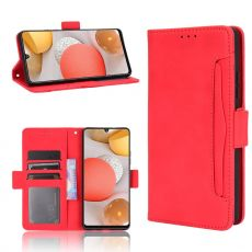 LN 5card Flip Wallet Galaxy A42 5G red