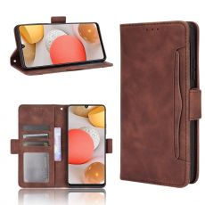 LN 5card Flip Wallet Galaxy A42 5G brown