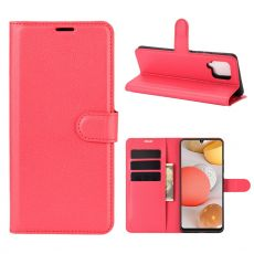 LN Flip Wallet Galaxy A42 5G Red