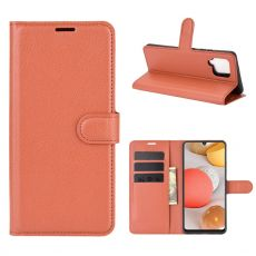 LN Flip Wallet Galaxy A42 5G Brown